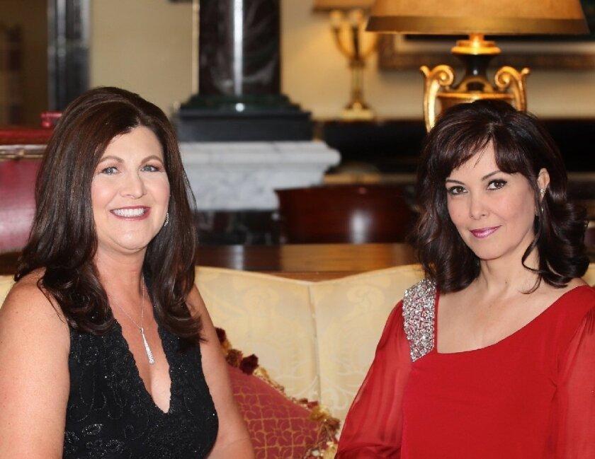 Broadway Nights chairs Shaunna Kahn and Sandra den Ujil. Photo by Gilda Adler