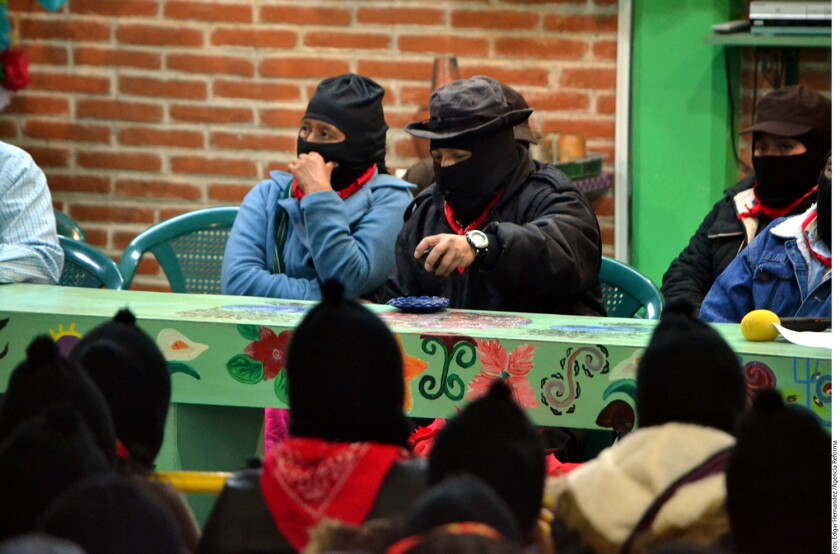 El subcomandante Galeano del Ejército Zapatista de Liberación Nacional (EZLN) señaló que los gasolinazos son como un apocalipsis.