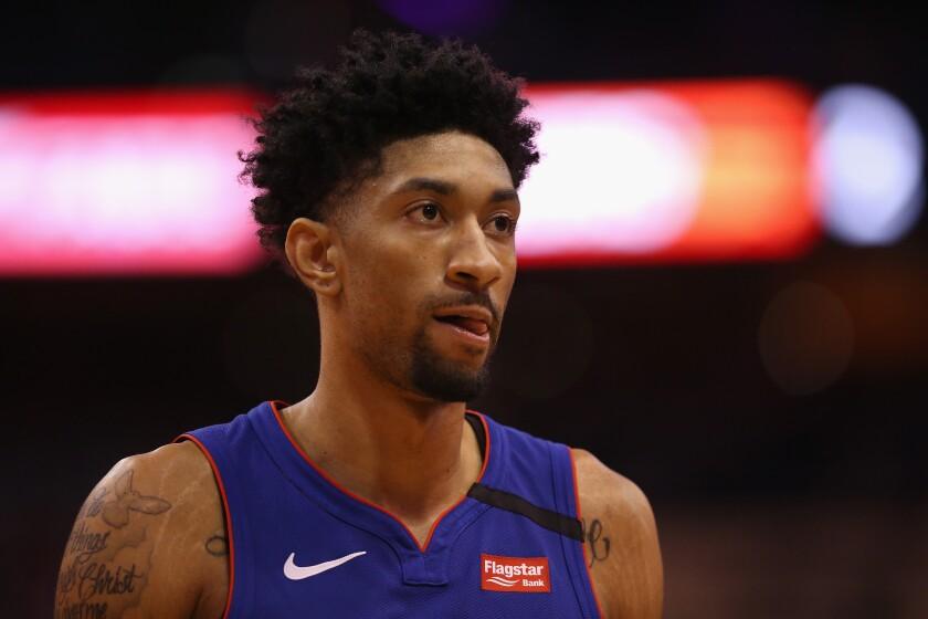 Detroit Pistons forward Christian Wood.