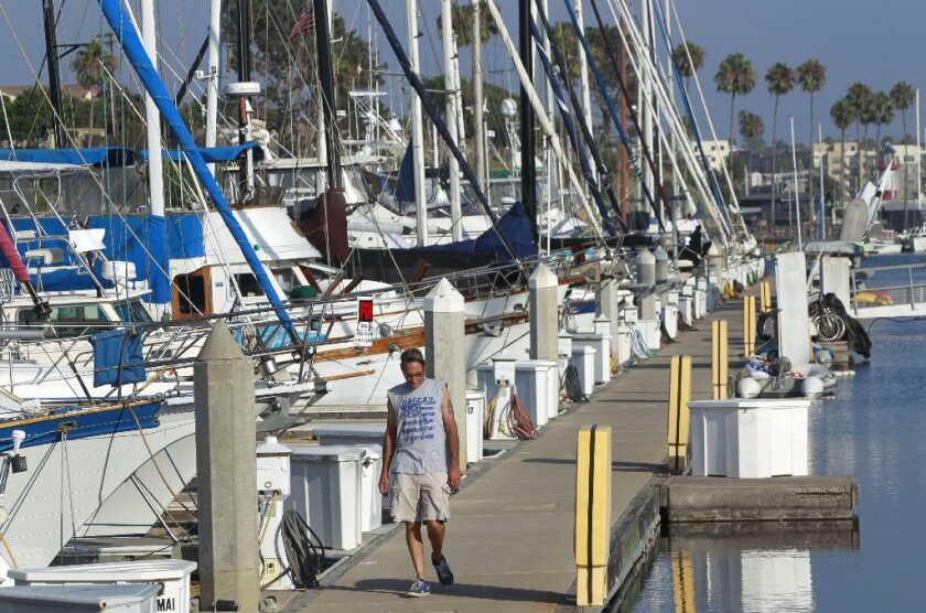 New $3 2 million dock on deck for Oceanside harbor - The San