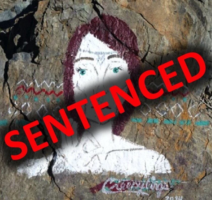 The woman who defaced several NPS sites in 2014 has been sentenced in federal court.