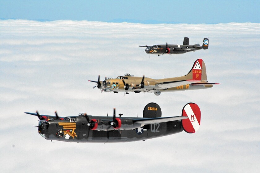 Collings Foundation will present four fully-restored WWII bomber and fighter aircrafts to Lyon Air Museum at John Wayne Airport as part of the national Wings of Freedom Tour.
