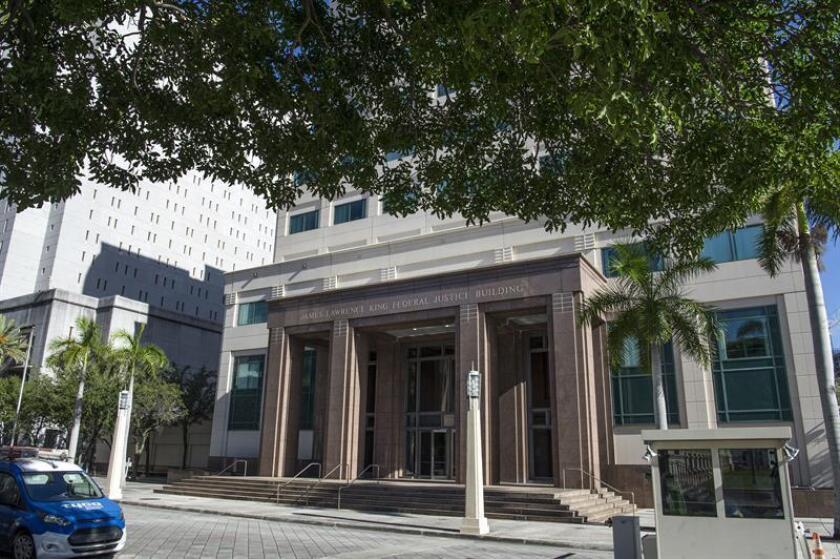 Fotografía del edificio de la Corte Federal de Justicia en Miami, Florida (EE.UU.). EFE/Archivo