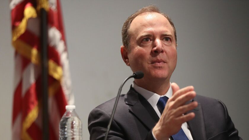 Rep. Adam Schiff Joins L.A. City Attorney For Discussion On Key Constitutional Questions Facing Nation's Capitol
