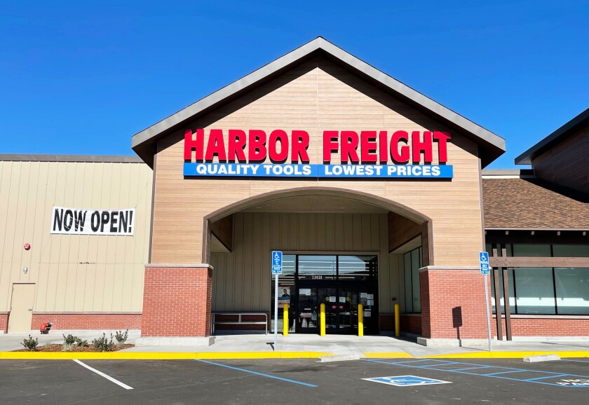 Harbor Freight Tools officially opens Saturday in Poway.