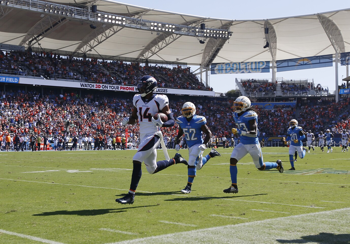 Chargers vs. Broncos 10/6/19