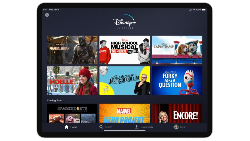 Disney+ has seen 75% growth in subscribers since early February.