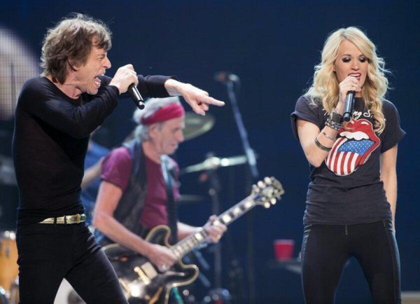 Carrie Underwood joins Rolling Stones in Toronto