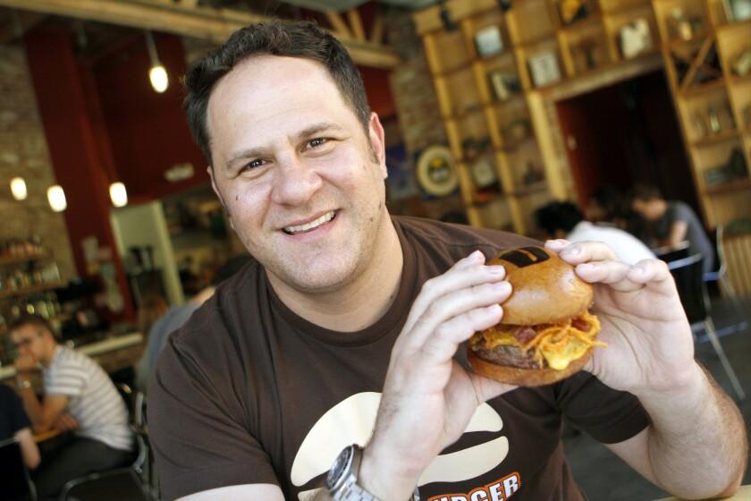 Adam Fleischman started the Umami Burger chain of restaurants in 2009.