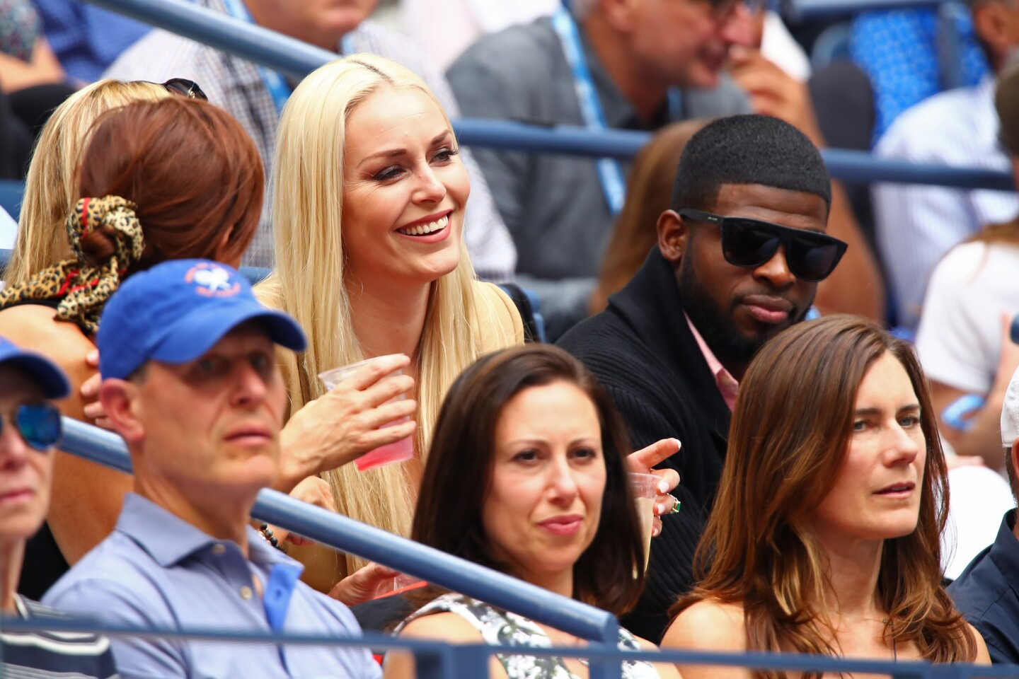 Lindsey Vonn and P.K. Subban