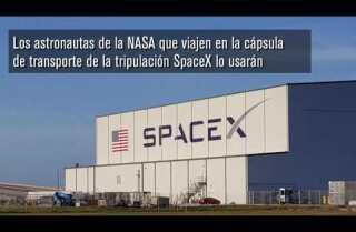 Una vistazo al traje espacial SpaceX