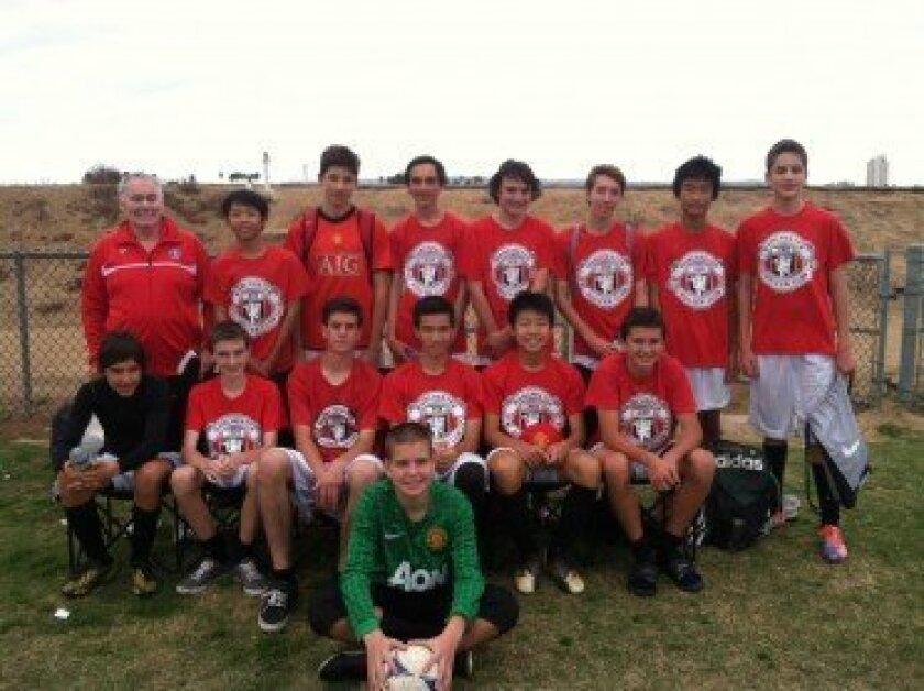 Carmel Valley Manchester Soccer Club BU15