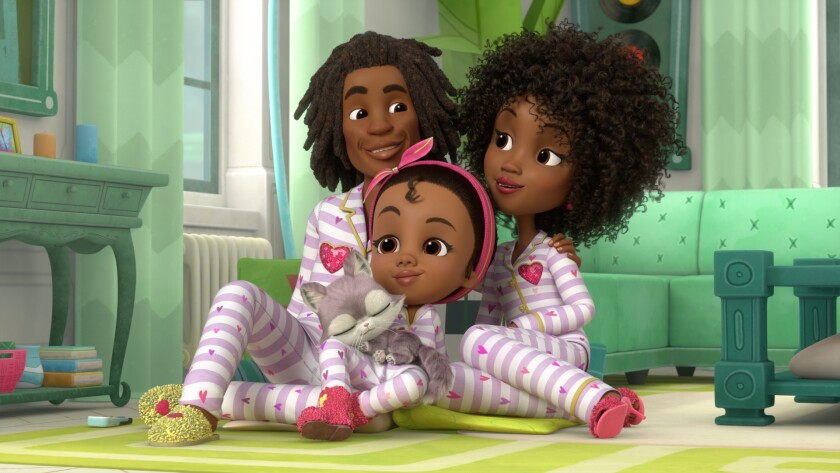"""Made by Maddie,"" airing on Nick Jr. later this month, bears a striking visual resemblance to the Oscar-winning  ""Hair Love"""