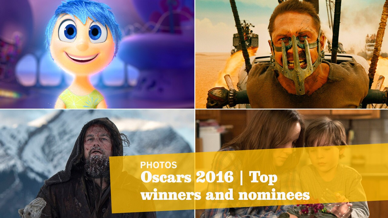 A few of the nominees for the top awards -- picture, director, actor and actress -- and other selected categories at this year's Academy Awards.