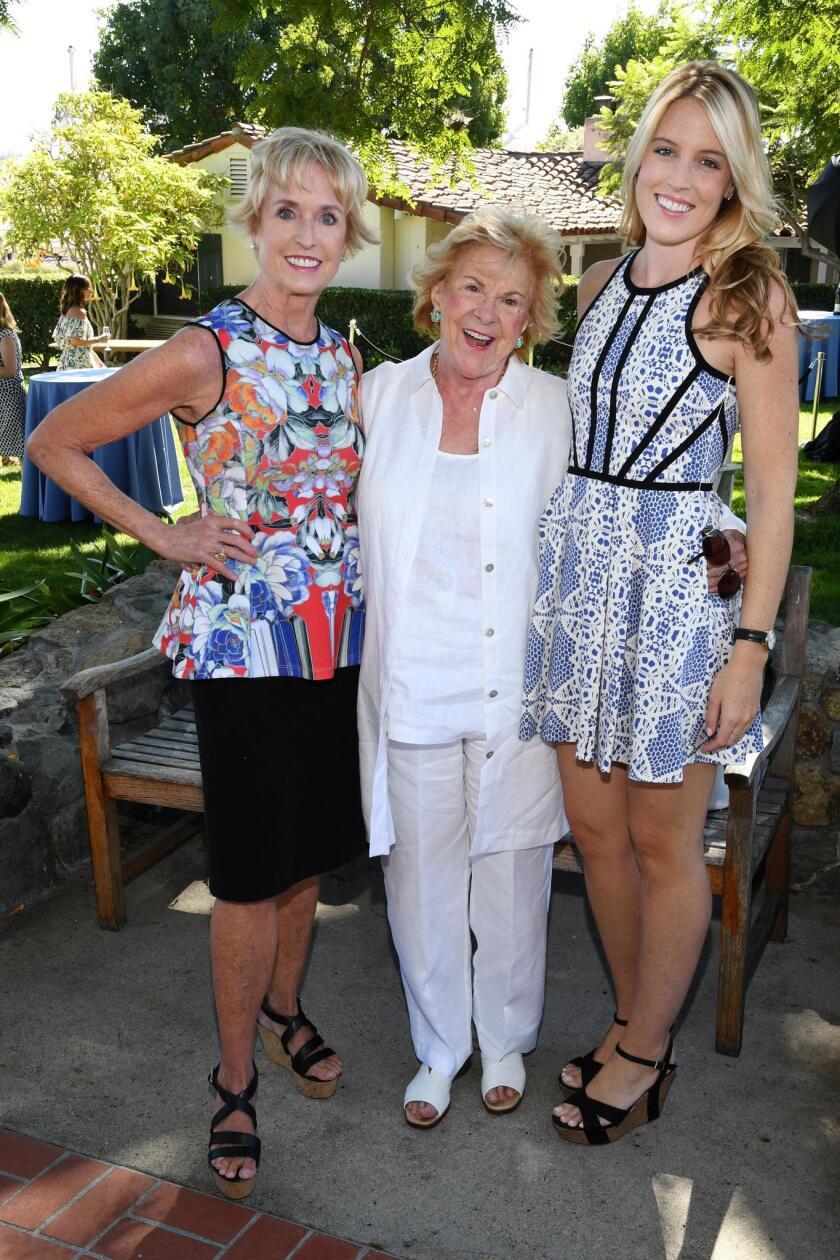 Kathy Kemper, Joan Sealy, Christina Valentine