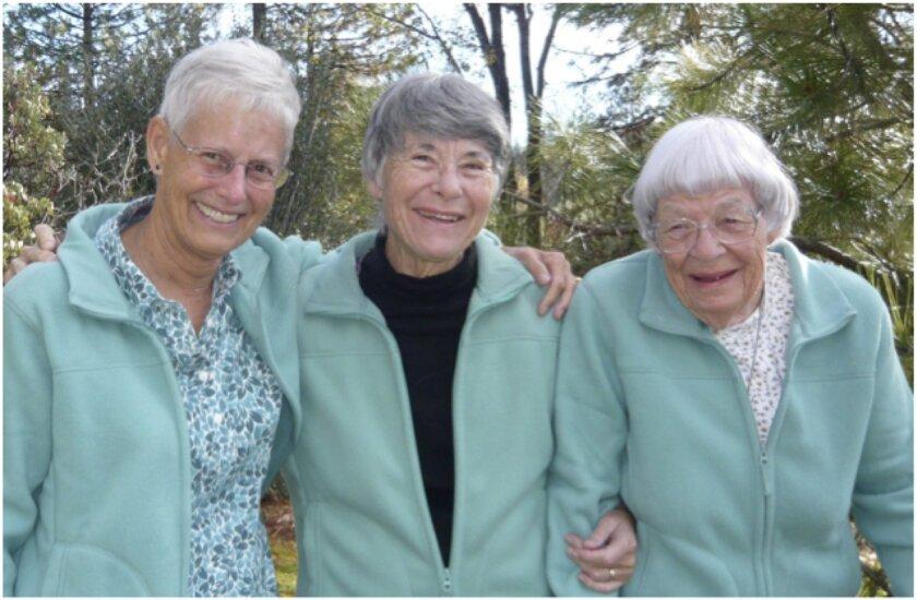The Adams Sisters: Alison, Bev and Joanne