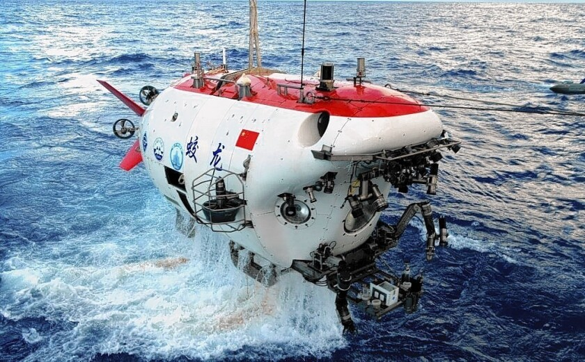 Chinese deep-sea submersible Jiaolong