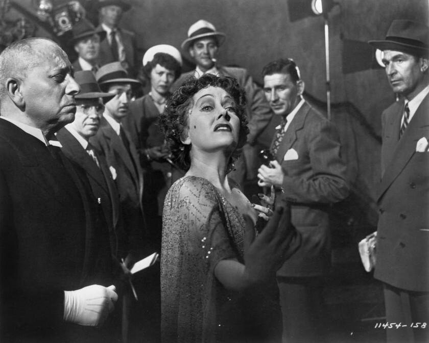 """Erich von Stroheim, left, and Gloria Swanson in """"Sunset Boulevard."""""""