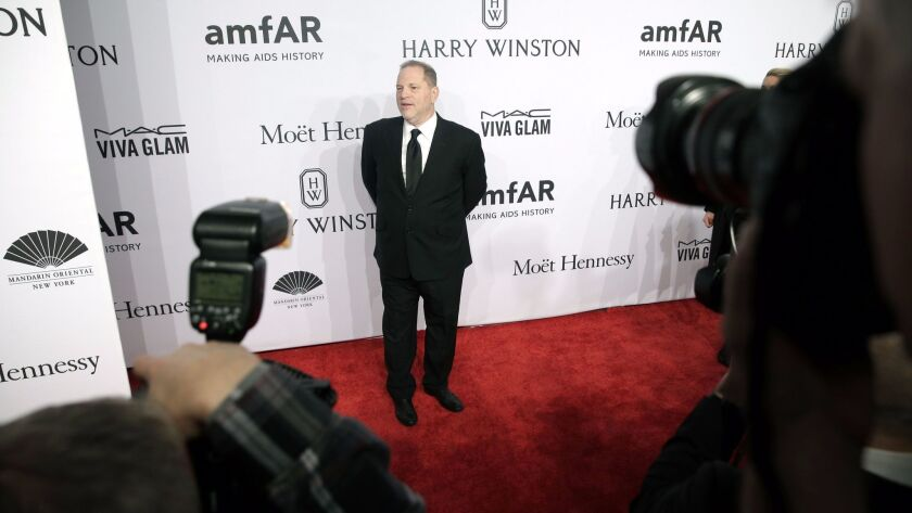 Hollywood producer Harvey Weinstein fired from production company over sexual harassment, New York, USA - 10 Feb 2016