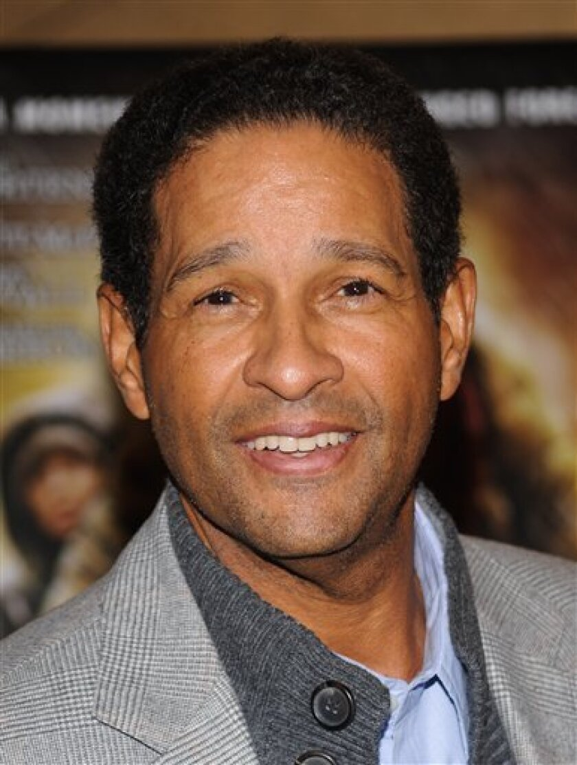 FILE-This Nov. 16, 2009 file photo shows Bryant Gumbel attending the premiere of 'The Road' in New York. Gumbel says he's recovering from lung cancer surgery and treatment. (AP Photo/Evan Agostini,File)