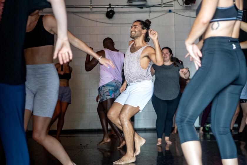 Dance Church instructor Joe Davis