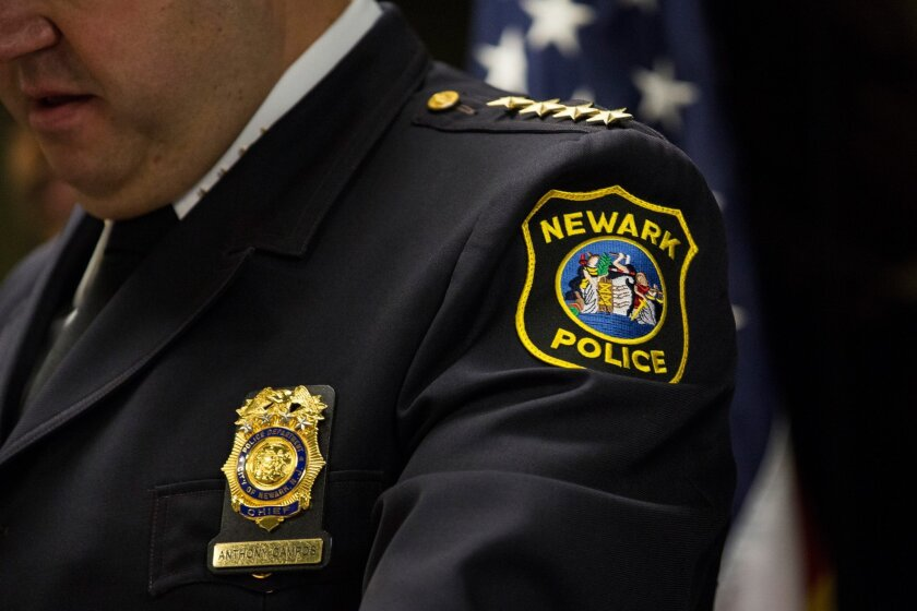 Anthony Campos, chief of the Newark, N.J., Police Department, last month talked to reporters about the Justice Department's investigation of his department. Newark was not the only U.S. city to have its police department investigated.