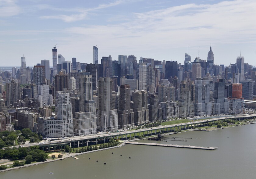 Manhattan's West Side has seen a glut of condo construction over the years. Now a developer in the area wants to create a building with separate entrances for low-income tenants.