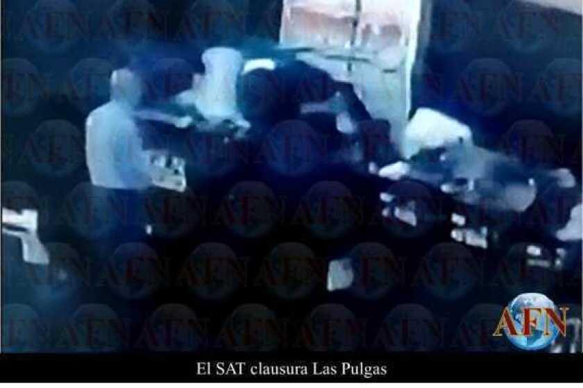 El SAT clausura Las Pulgas