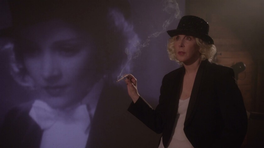 "Laurie Simmons in the movie ""My Art."""