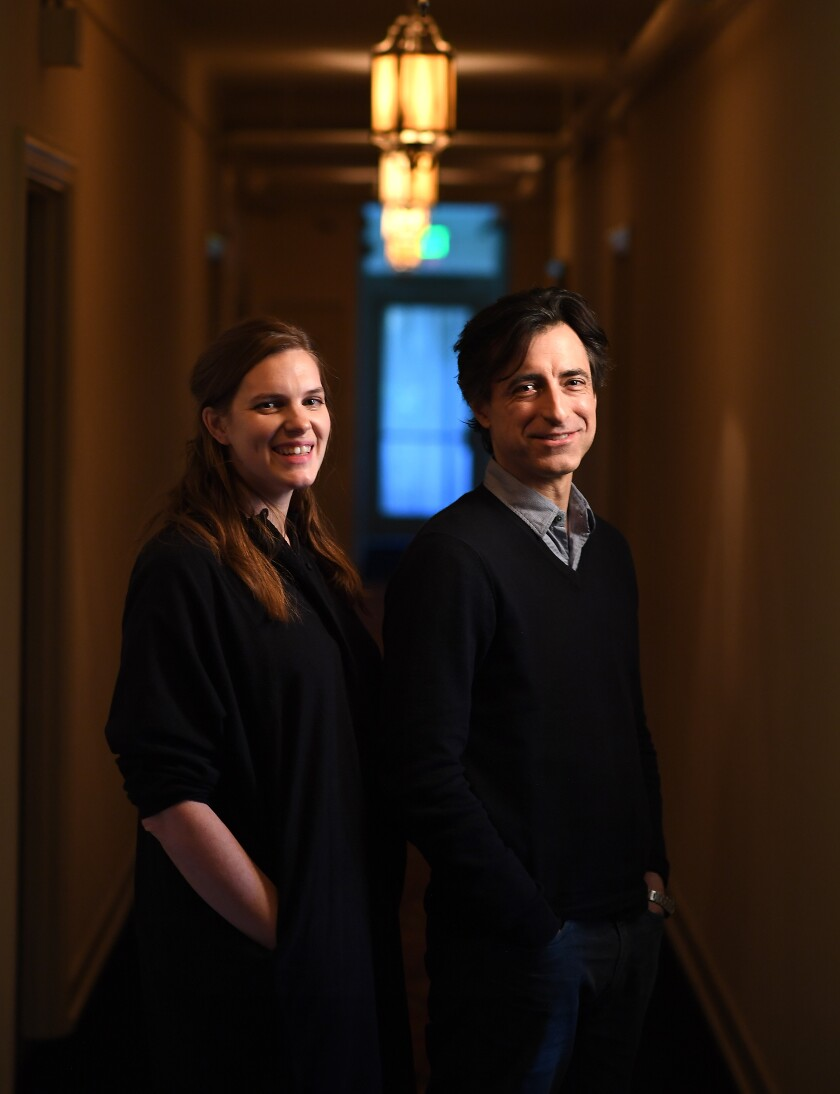 Editor Jennifer Lame and filmmaker Noah Baumbach teamed up for 'Marriage Story.'