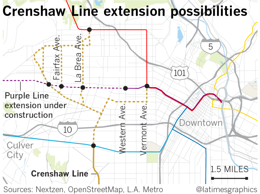 La Subway Map With City Map.Will It Take Until 2047 To Extend The Metro To West Hollywood Los