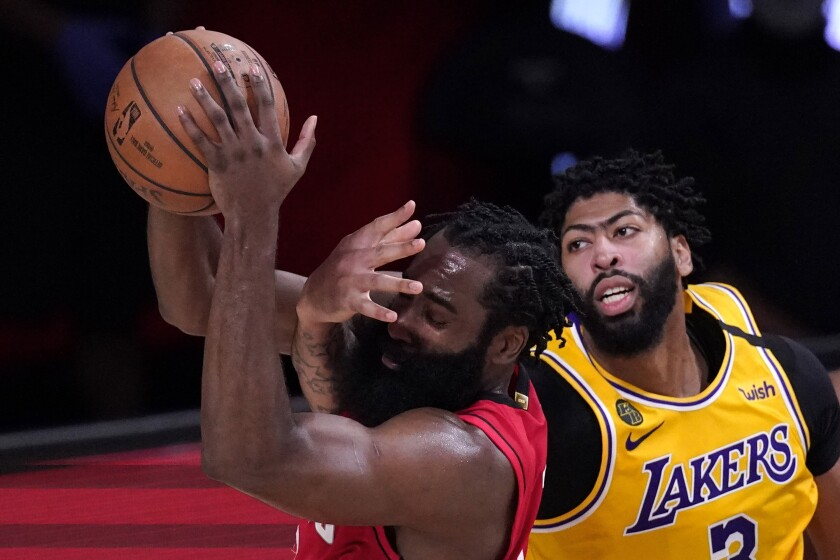 Five Takeaways From Lakers Game 4 Win Over Rockets Los Angeles Times