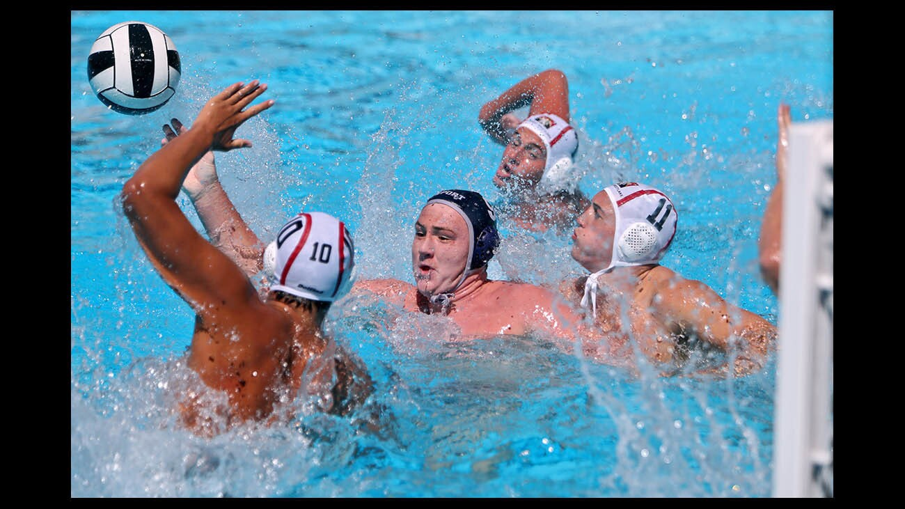 Photo Gallery: Newport Harbor boys water polo in Elite 8 tourney