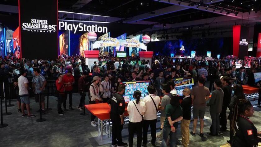 Público visita la Electronic Entertainment Expo (E3) en el Centro de Convenciones de Los Ángeles, California, EE. UU. EFE