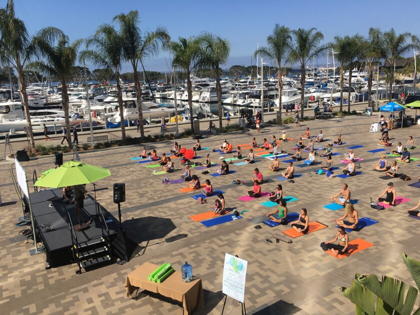The Soul Fuel Yoga Fest is returning to on March 18. (Courtesy photo)