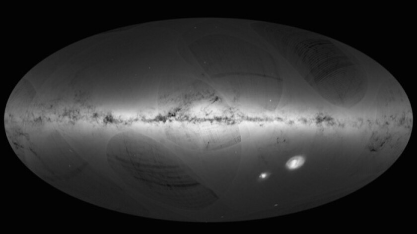 Gaia's star map of the Milky Way