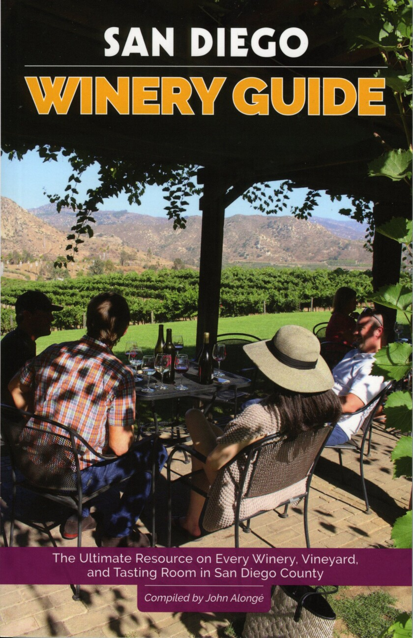 A new guide helps you navigate San Diego's growing wine country.