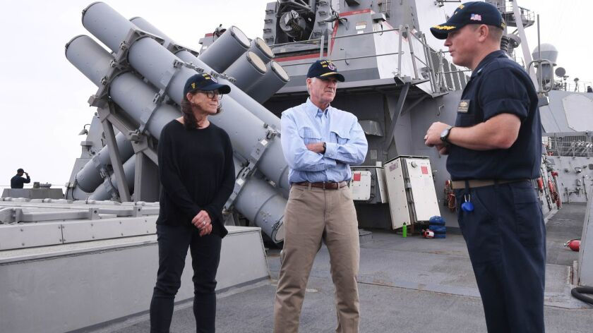 Destroyer commander fired in Hawaii following fraternization
