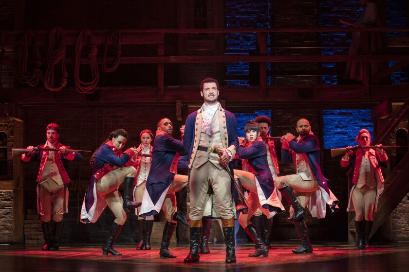 Live theater is an obstacle course, but 'Hamilton' at the Pantages is worth it