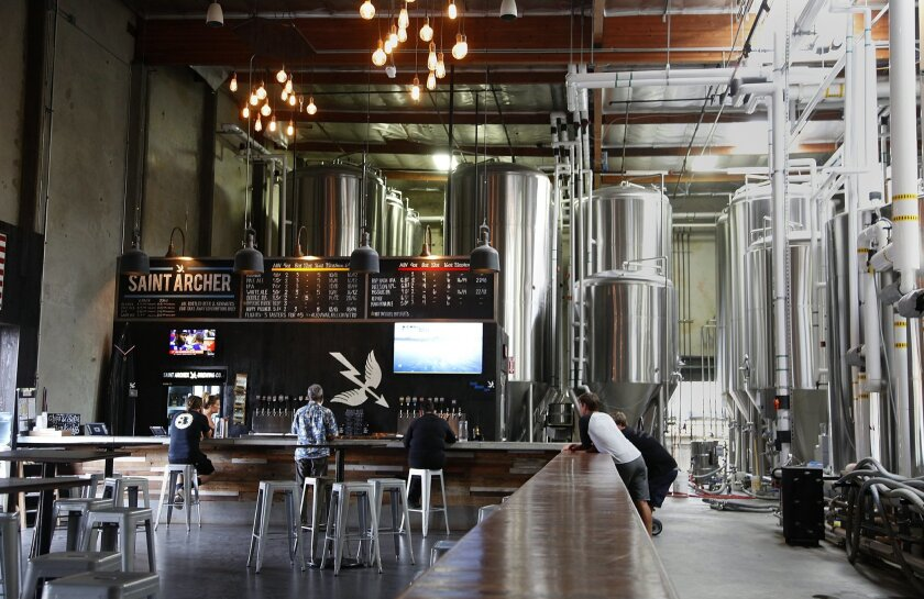 Saint Archer Brewery has reopened its tasting rooms, including its brewery and tap room in the Miramar area.