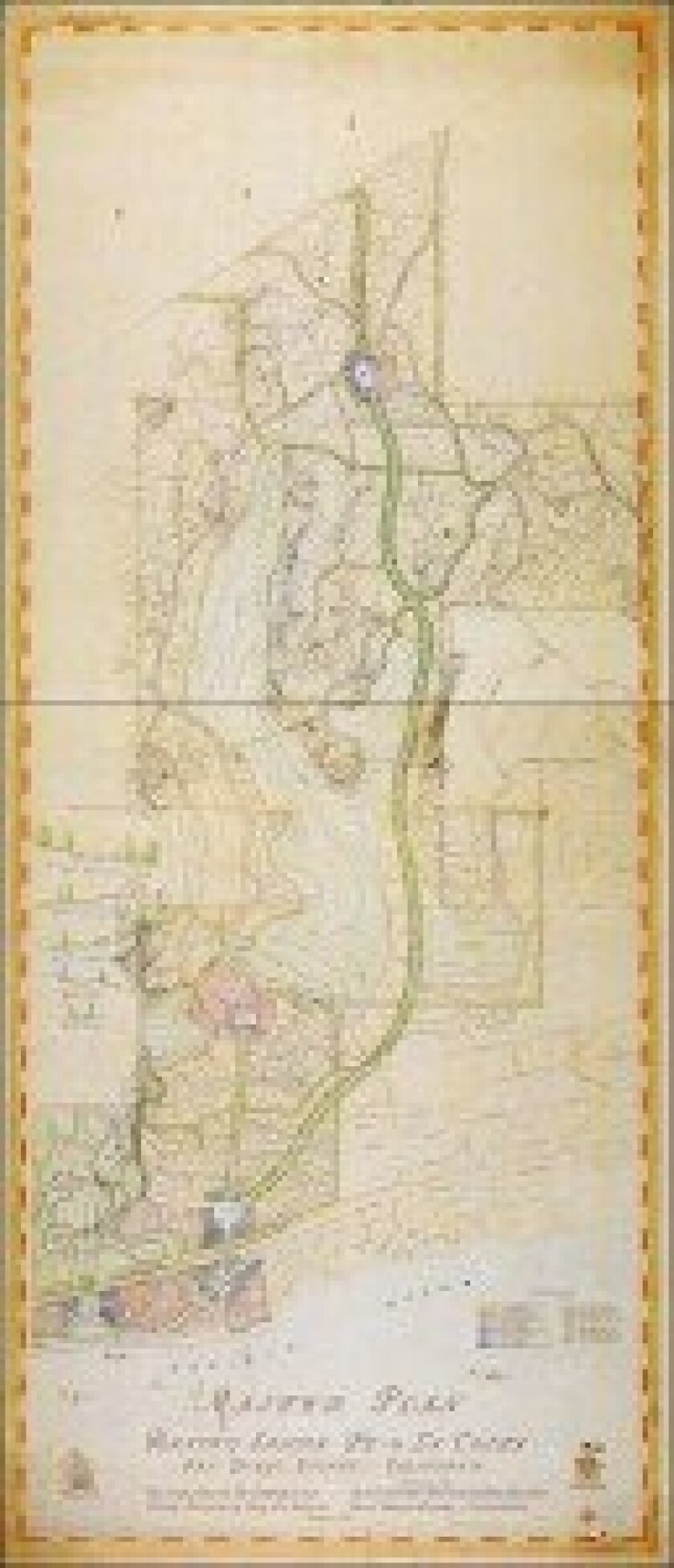 A special event featuring the original 1929 Rancho Santa Fe Master Plan map will be held on Thursday, Feb. 28, at the Rancho Santa Fe Golf Club from 5:30-7:30 p.m.