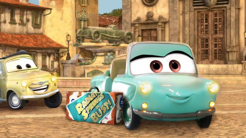 8) Luigi's Rollickin's Roadsters
