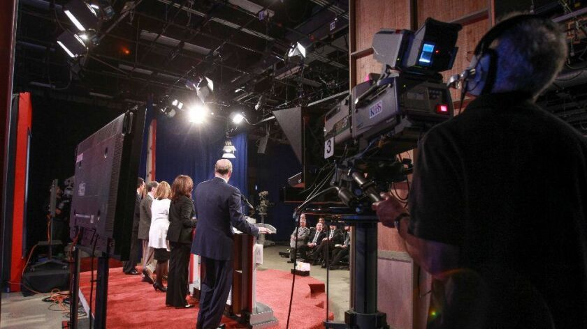 KPBS broadcast last May's debate among California's top five candidates for the U.S. Senate.