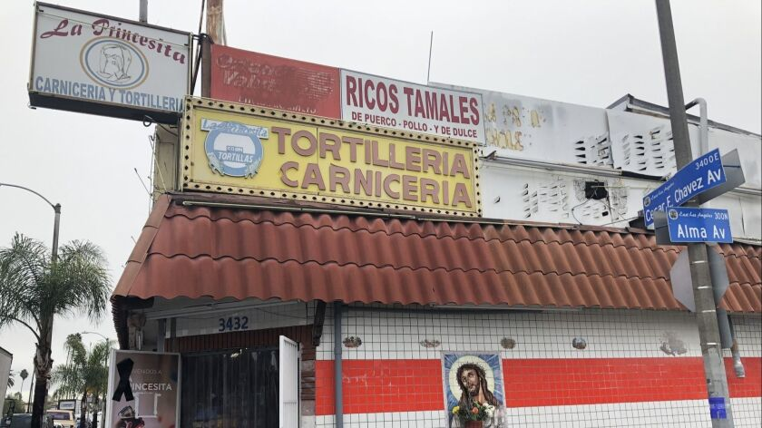 Francisco Ramirez, owner of pioneering East L A  tortilleria