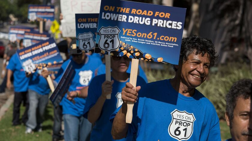 Prop. 61 supporters