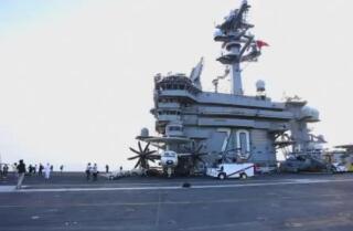 El portaaviones de EE. UU. visitó Vietnam por primera vez desde la guerra
