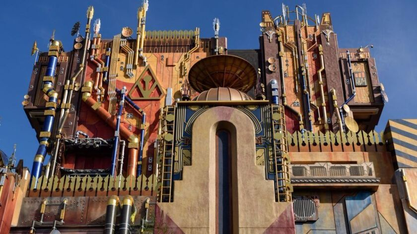 Guardians of the Galaxy -- Mission: Breakout exterior