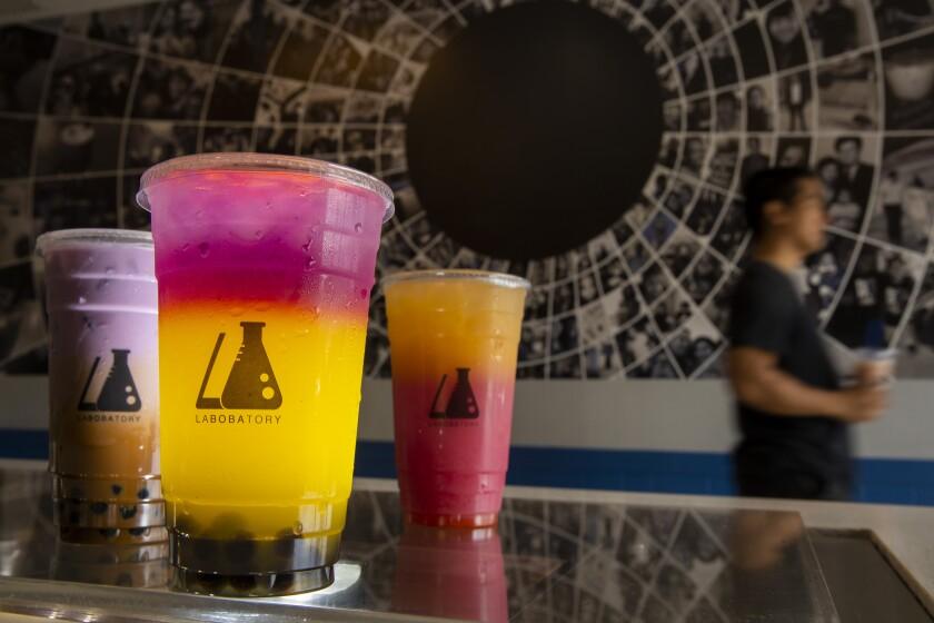 Labobatory drinks