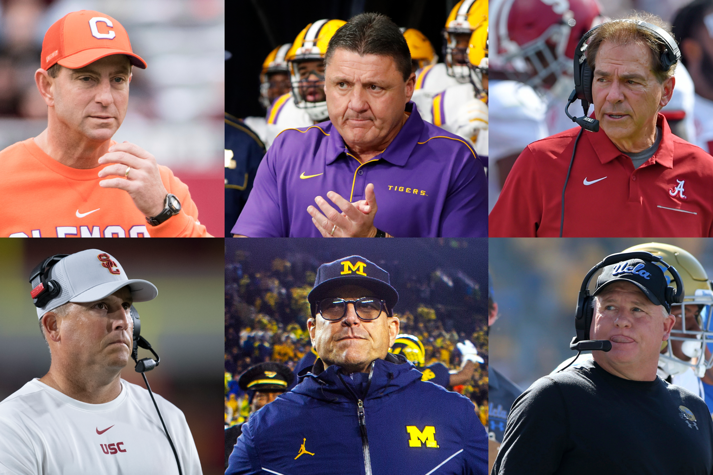 Salaries For All College Football Coaches In The Power Five Los Angeles Times