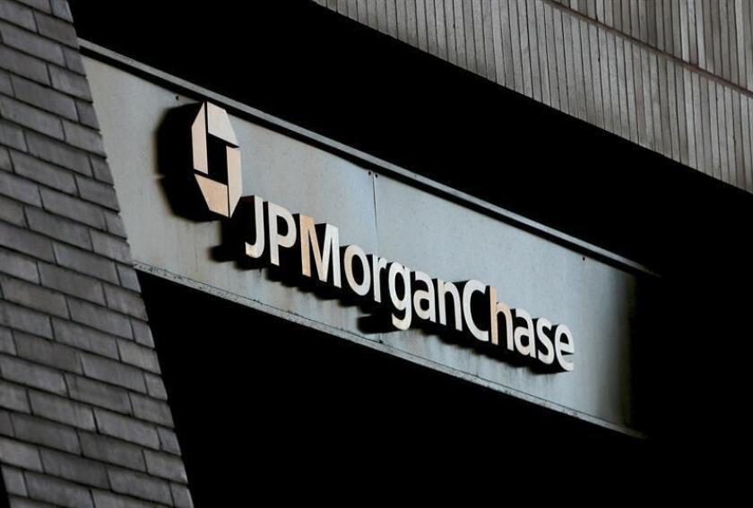 Vista general de la sede del banco de inversión JP Morgan en Nueva York (Estados Unidos). EFE/Archivo